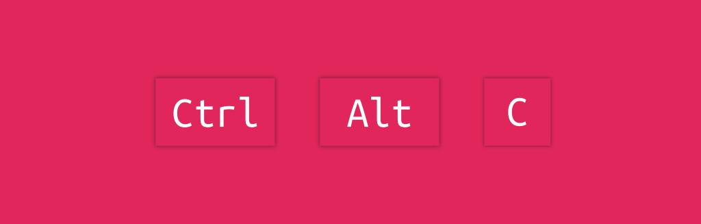 Как отключить Ctrl-Alt-C